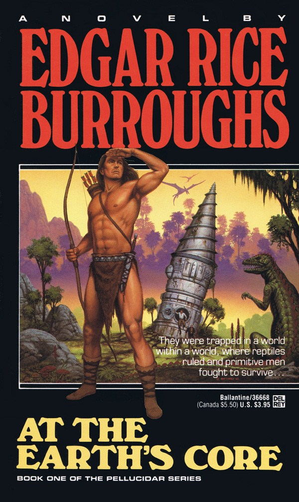 at the earths core Tweetemail tweetemail review by roger carpenter based upon the classic first novel of edgar rice burroughs' seven-book pellucidar series and produced by british genre film company amicus.